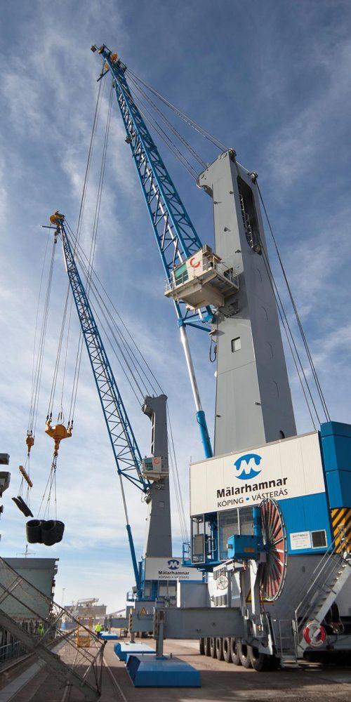 Konecranes Gottwald mobile harbor crane