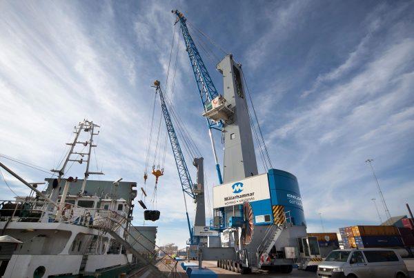 MHC Konecranes Gottwald MHC mobile harbor crane