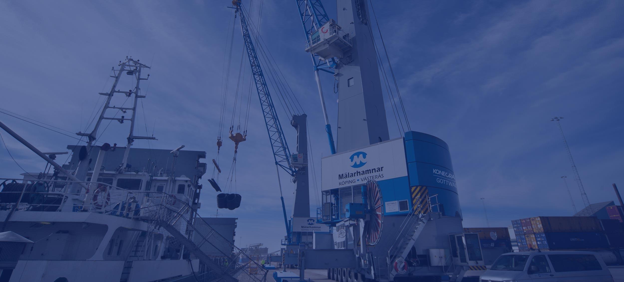 Konecranes Gottwald MHC mobile harbor cranes