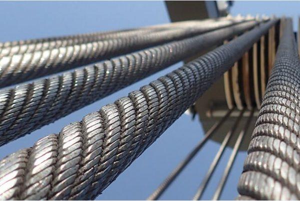 MHM TEUFELBERGER REDAELLI wire rope harbor crane