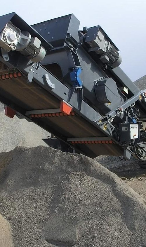 MHM RM RUBBLE MASTER COMPACT CRUSHING crusher attachment add on