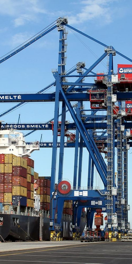 MHM Konecranes STS Ship To Shore crane container handling