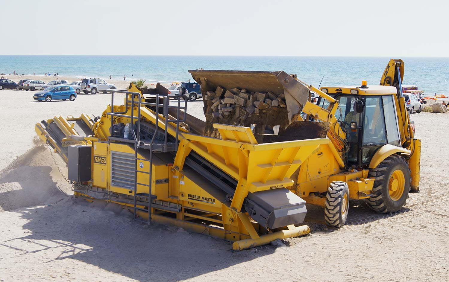 MHM RM Rubble Master compact mobile crusher RM60