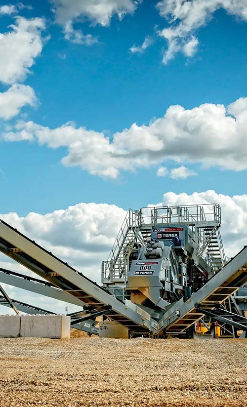 MHM TWS Terex Washing Systems Aggresand modular