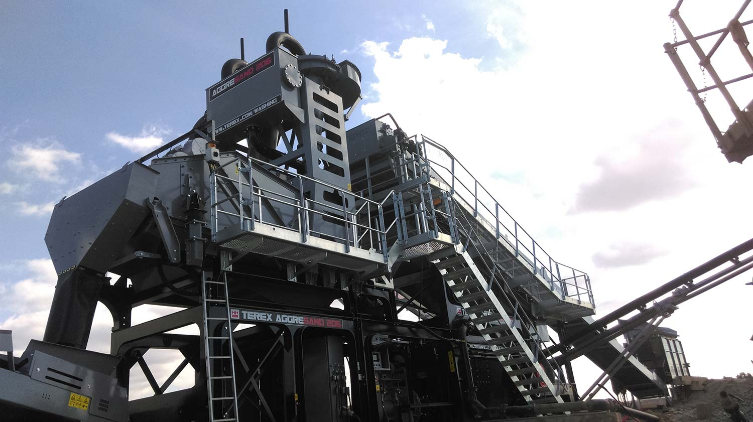 MHM new TWS Terex Washing Systems modular plant Aggresand 206 Lithuania