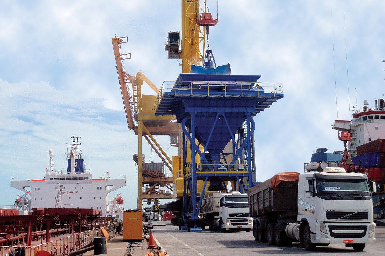 MHM SAMSON bulk material handling eco hopper