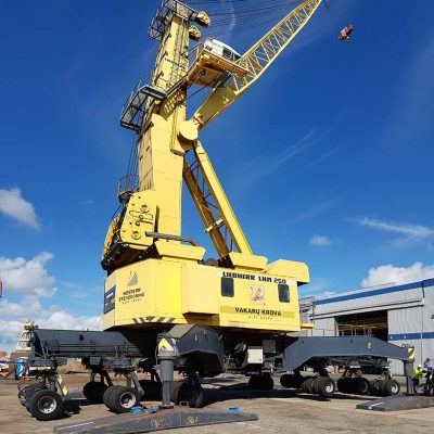 MHM used mobile crane Liebherr LHM250