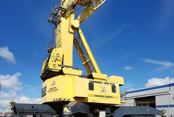 MHM used mobile crane Liebherr LHM250
