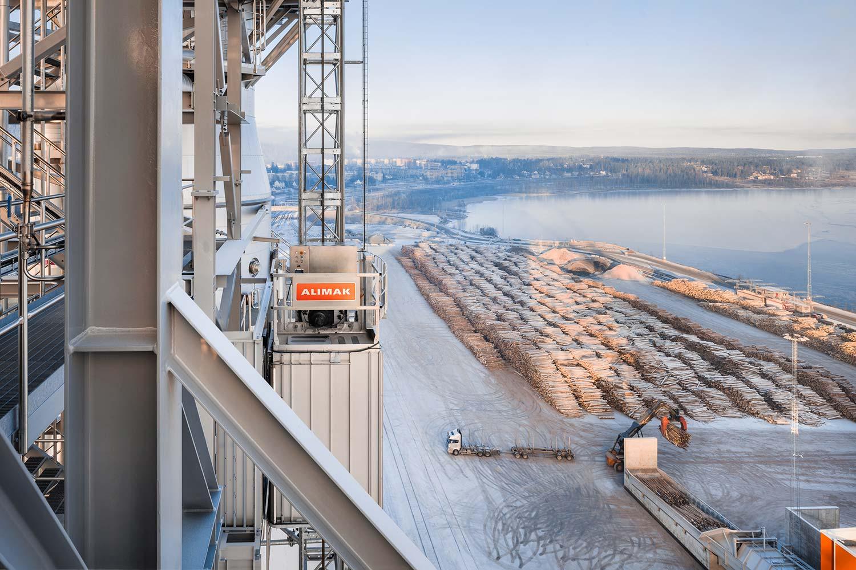 ALIMAK Industrial elevators MHM