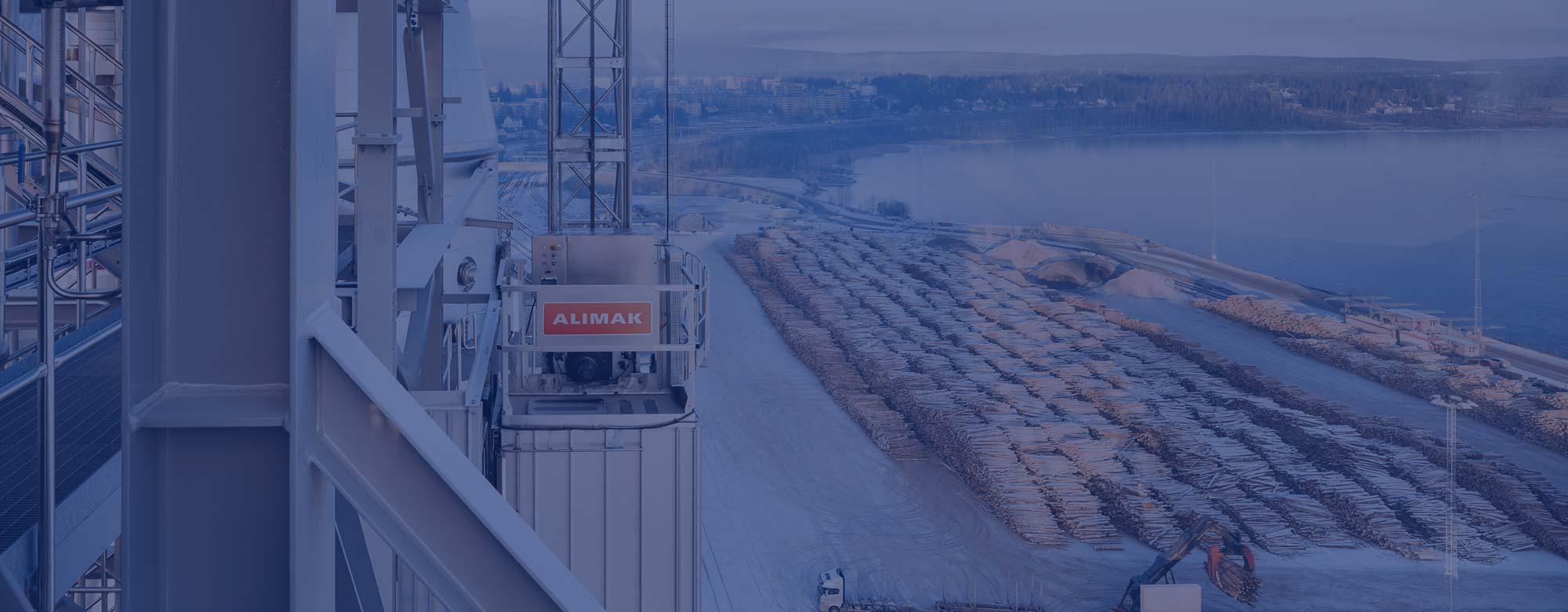 ALIMAK industriniai liftai