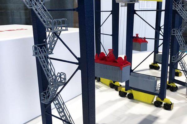 Crane mini model