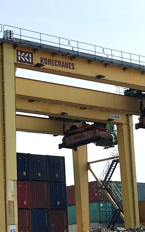 Used Konecranes RTG crane