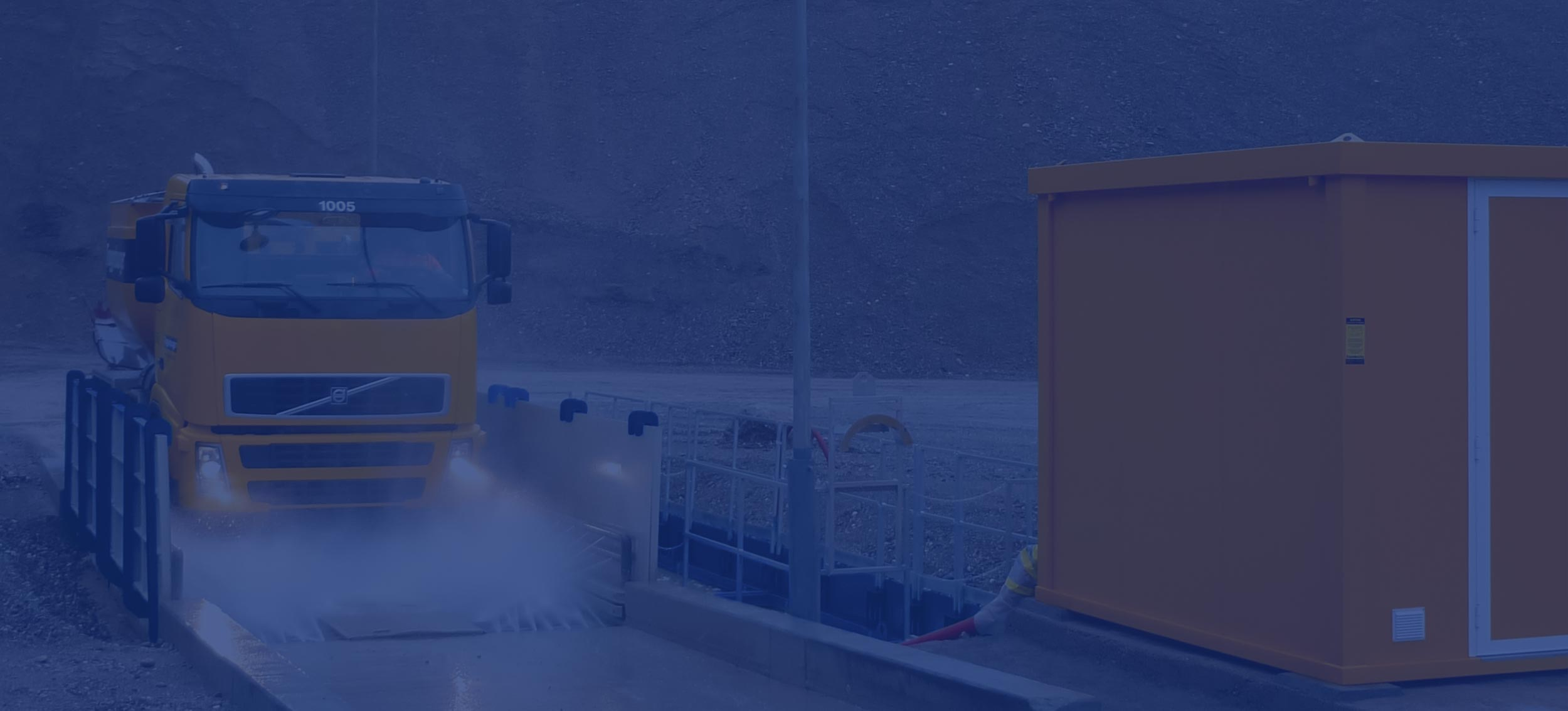 MobyDick Wheel Washing, Dust Control and Demucking Systems